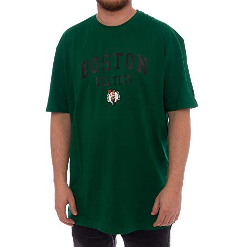 New Era - Boston Celtics Home T-Shirt grün - NBA Basketball (M) (Celtics Boston Shirt Herren)