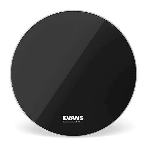 D'Addario BD18RB-NP Evans EQ3 Resonant Smooth Bassdrum Fell 45,7 cm (18 Zoll) ohne Loch schwarz