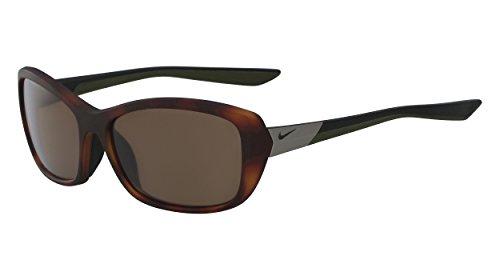 Nike Damen Flex Finesse Ev0996 Sonnenbrille, Braun (MttTrtsW/BrwnL), 58