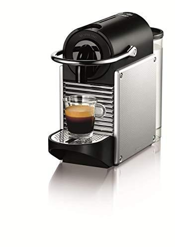 DeLonghi Nespresso EN 125.S Kapselmaschine (1260 Watt, 0,7 Liter, Pixie Electric) silber thumbnail