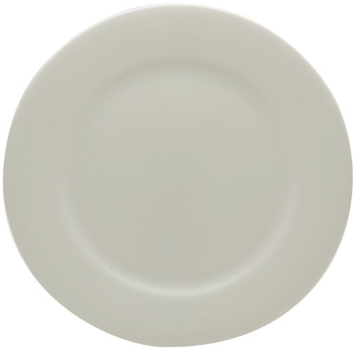 Red Vanilla Pure Vanilla Porzellan-Set, 16-teilig Vorspeisenteller 8.75-inch Rimmed Entrée Plate Off-white/Ivory Denby White Dinner Plate