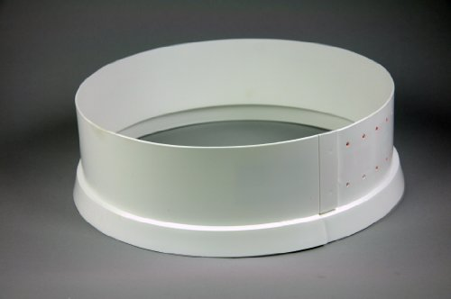 Verstellbarer Tortenring aus Kunststoff, Höhe 7cm