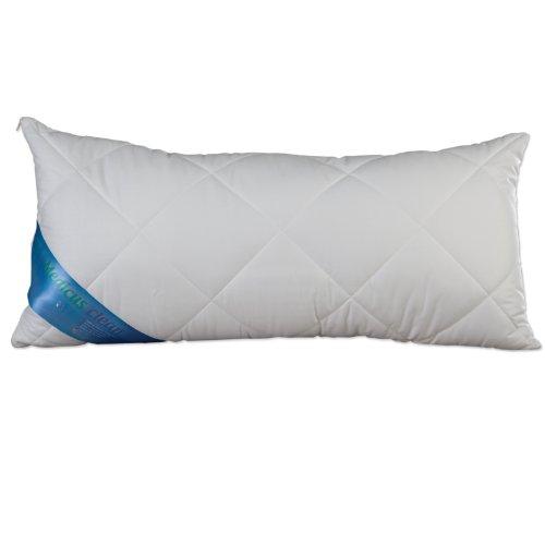 Schlafmond Medicus Clean 50101 Kopfkissen 40x80 cm Kissen kochfest waschbar 95° (Komfort Bettwäsche Kissenbezüge)