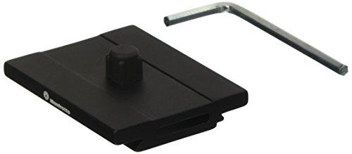 Manfrotto MSQ6PL Top Lock Schnellwechselplatte, Arca Swiss kompatibel schwarz -