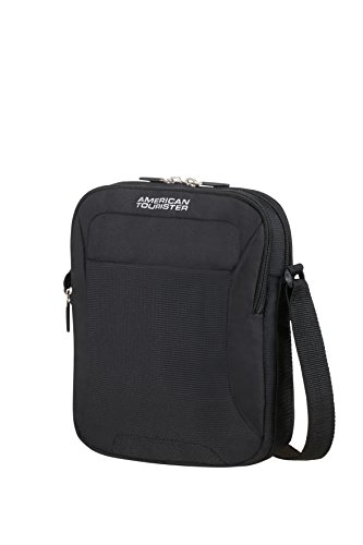 american-tourister-road-quest-cross-over-bolso-bandolera-negro-solido-black-27-cm-6-l