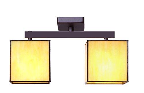 ivintage-thales-lampada-da-soffitto-con-2-luci-beige-marrone-ruggine-41-x-13-x-20-cm