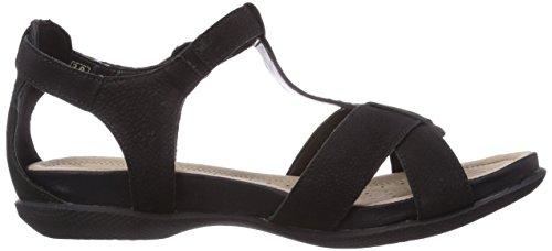 Remonte R7455 64, Sandales femme Noir (Schwarz 01)