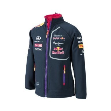 a97dada339a Infiniti Red Bull Racing Official Teamline Sponsoren Kinder Softshell  Jacke