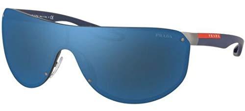 Ray-Ban Herren 0PS 61US Sonnenbrille, Blau (Gunmetal Rubber), 40.0