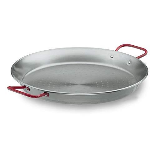 Profesional Paellera De hierro 60cm para Gastronomía Paella Sartén Sartén XXL