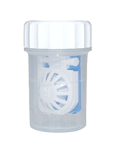 Antimikrobieller Kontaktlinsenbehälter Synergi TM für weiche Kontaktlinsen mit Körbchen
