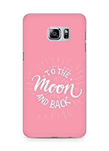 AMEZ love you to the moon and back Back Cover For Samsung Galaxy S6 Edge Plus