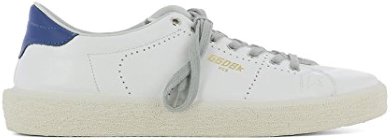 Golden Goose Herren G32MS714B8 Weiss Leder Sneakers
