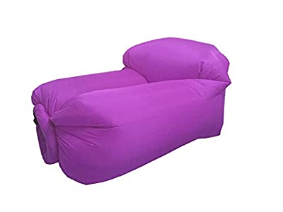 Inflatable chair by JD BAG- protable/lightweight-Ideal for swinming/camping - inexpensive UK light shop.