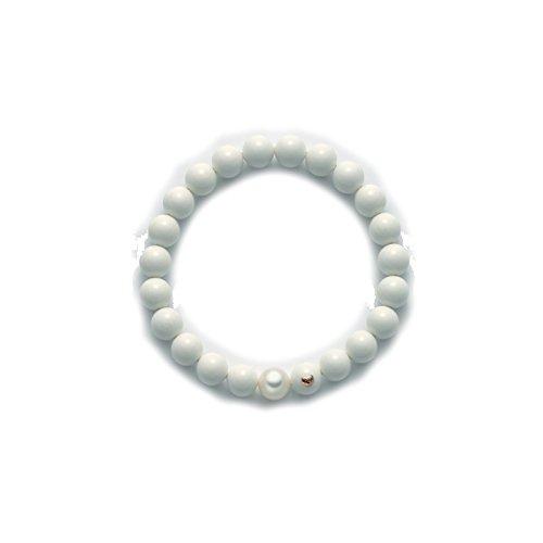 Bracciale MILUNA di perle TERRA E MARE - PBR1804