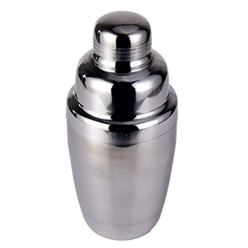 Minzhi 5Pcs / Set Edelstahl Cocktail Shaker Mixer Getränk Barkeeper Eiszange Werkzeug 250/350 / 550 / 750ml