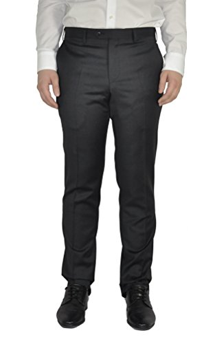 Michaelax-Fashion-Trade - Pantalon de costume - Manches Longues - Homme Noir - Noir