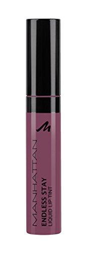 Manhattan Endless Stay Liquid Lip Tint, Farbe 50R Soft Nude, langanhaltende Lippenfarbe mit leichter...