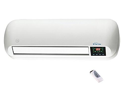 Calefactor cerámico pared 1000W / 2000W temporizador