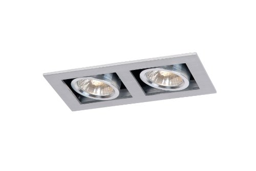 Lucide 28900/02/12 Chimney - Foco empotrable (2 luces GU10, 50 W), color...