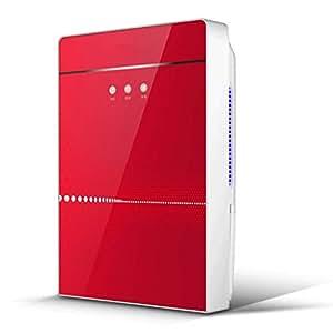 Deumidificatore ad assorbimento con ionizzatore e filtro d'argento Essiccatore per bucato e deumidificazione intelligente - Rosso