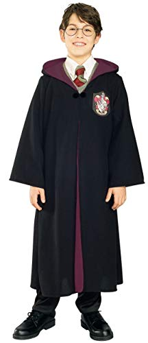 Rubie's Harry Potter™ and Hermione Granger™ Deluxe Gryffindor Robe Costume Bambini, 8-10 anni
