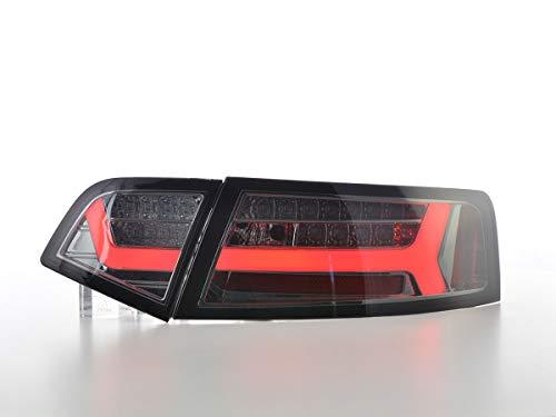 Feux arrière LED pour Audi A6 4F berline année de Construction 08-11 Smoke