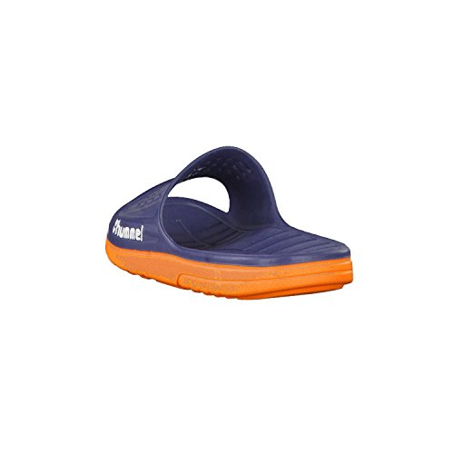Hummel badelatschen Sandal 60091 Bleu - Dress Blue/Flame