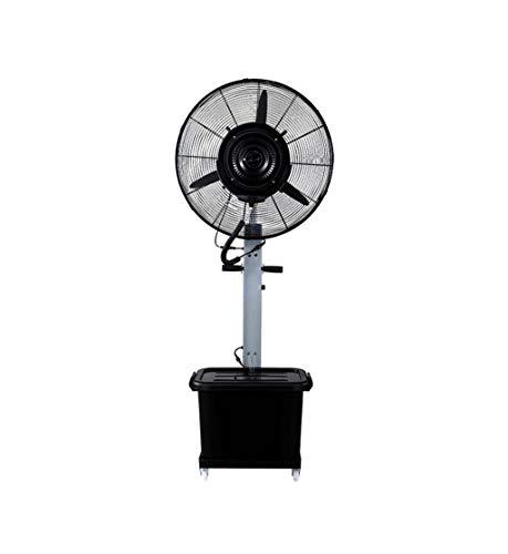 Industrielles Spray-Boden-Ventilator-Wasser-Nebel-Befeuchtungs-Kühlwasser-Zerstäubungs-Wasser, Das kommerziellen elektrischen Ventilator 260W Drei Geschwindigkeits-Windgeschwindigkeits-Grau abkühlt