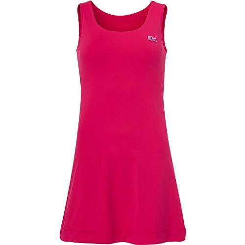 Sportkind Mädchen & Damen Tennis/Hockey/Golf Trägerkleid, pink, Gr. 134 - Golf Mädchen