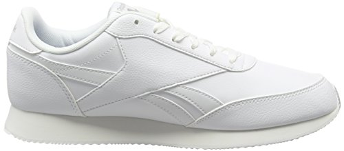 Bianco Eu Uomo Acciaio Reebok Cl white Sportive 2l Scarpe 39 Jog Reale Aq9791 PqOpF