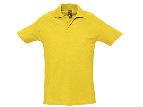 ATELIER DEL RICAMO Herren Poloshirt * Einheitsgröße Gelb