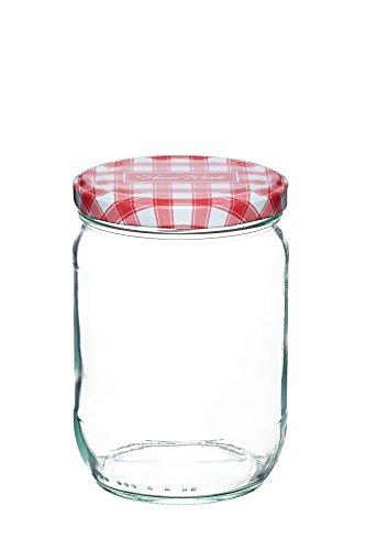 Home Made KitchenCraft Einmachglas mit Schraubdeckel, 580ml (Food Container Mit Schraubdeckel)