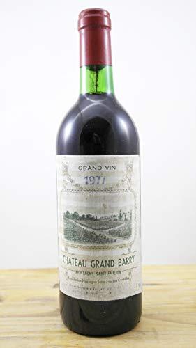 Vino Cosecha 1977 Château Grand Barry Botella