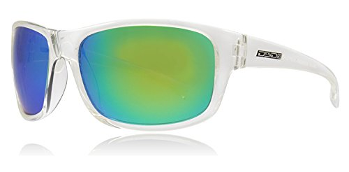 Dirty Dog Shock Sunglasses One Size Clear Crystal Green Fusion