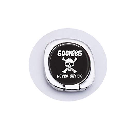 bab Schlüsselanhänger, Aufschrift Goonies Never Say Die, mit Zitat von Goonies Never Say Die-Movie Zitat, Handy-Griff, Handy-Zubehör, Goldener Ringgriff, Sicherheit