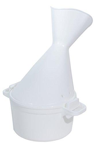 Pflegehome24 Inhalator 2-teilig, groß für Gesichtssauna bei Erkältung