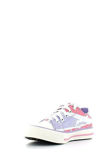Lumberjack , Chaussures de ville à lacets pour fille Rose pink-flag Rose - pink-flag