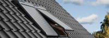 VELUX Elektro-Rollladen SML SK08 0000S, Aluminium Dunkelgrau