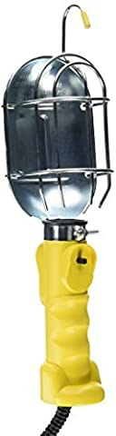 Bayco SL-425A Metal Shield Incandescent Utility Light with 16-Gauge Cord