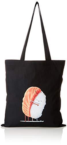 TEXLAB - Sleeping Sushi - Stoffbeutel, schwarz