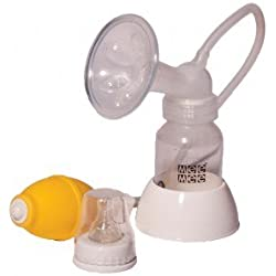 Mee Mee - Breast Pump with Feeding Bottle Set