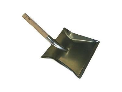 Kehrschaufel verzinkt mit Holzgriff