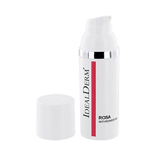 Antirötungsgel mit Azelainsäure, Glycerin und Vitamin E, ideal bei Couperose, Rosacea, fetter und zu Akne neigender Haut und...