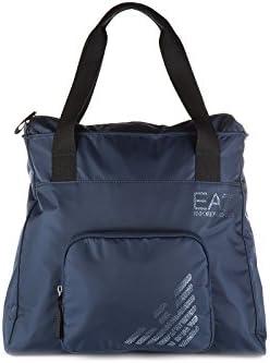Emporio Armani EA7 bolso de mano para compras mujer nuevo train eagle blu