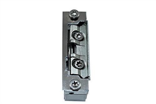 SN-TEC Türöffner Austauschstück mit mechanischer Entriegelung/Tagesfalle ohne Stromanschluss (sehr kleine Bauform)