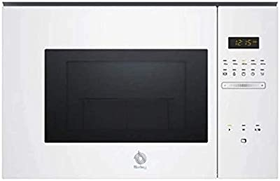 Balay 3CG5172B0 Integrado -  Microondas integrable / encastre con grill, 800 W / 1000 W , color blanco