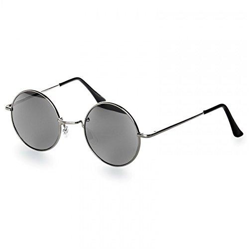 caspar-sg039-runde-retro-john-lennon-sonnenbrille-rundbrille-hippi-brille-nickelbrille-farbesilber-s