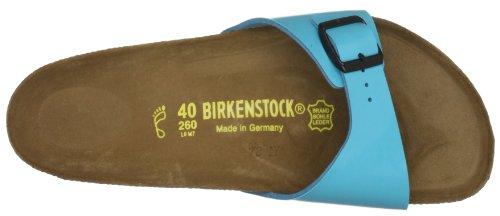 Birkenstock Madrid,Unisex-Adults' Sandals Bleu (Blue Lack)