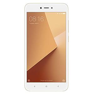 """Xiaomi Redmi Note 5A - Smartphone libre de 5.5"""" (4G, WiFi, Bluetooth, Snapdragon 425 1.4 GHz, 16 GB de ROM ampliable, 2 GB de RAM, cámara de 13 Mp, Android MIUI, dual-SIM), Oro, -[Versión española]"""